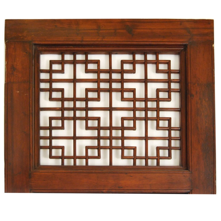 Chinese Lattice Doorway 5
