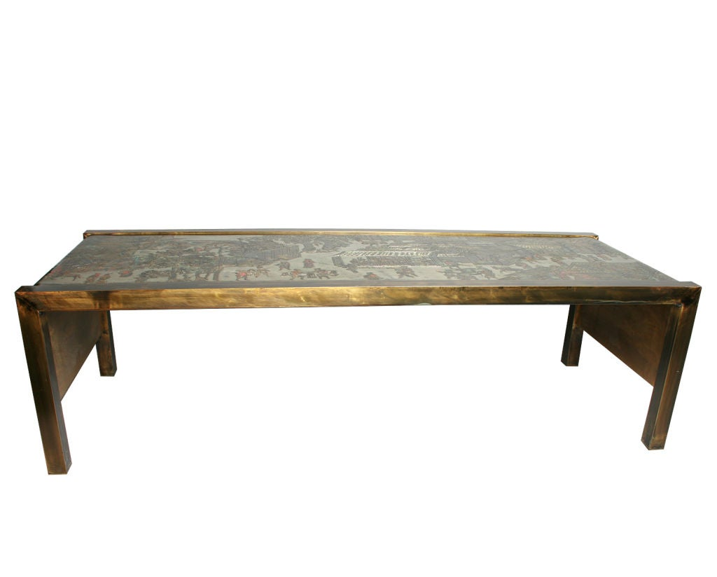Laverne Waterfall Coffee Table At 1stdibs