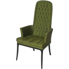 Elegant Erwin Lambeth Tall Back Armchair