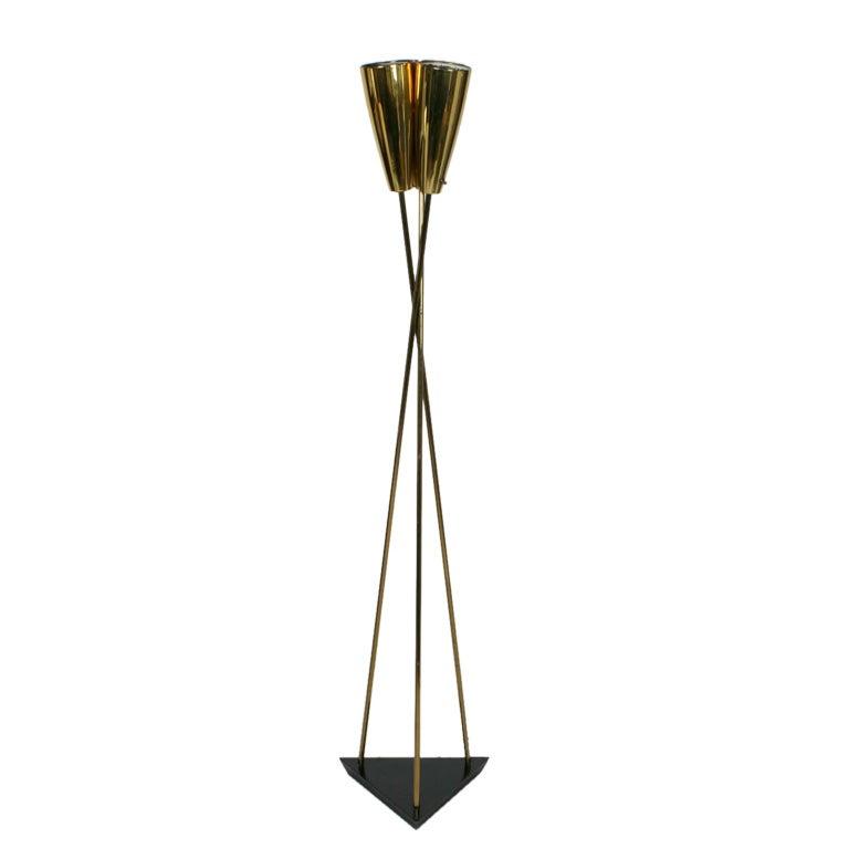 Tripod Midcentury Floor Lamp