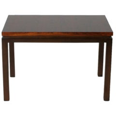 Pair of Rosewood and Mahogany Harvey Probber End Tables