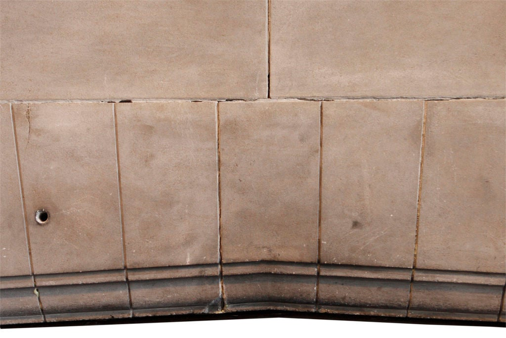Carved Limestone Fireplace Surround 8