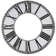 Cast Aluminum Clock Face