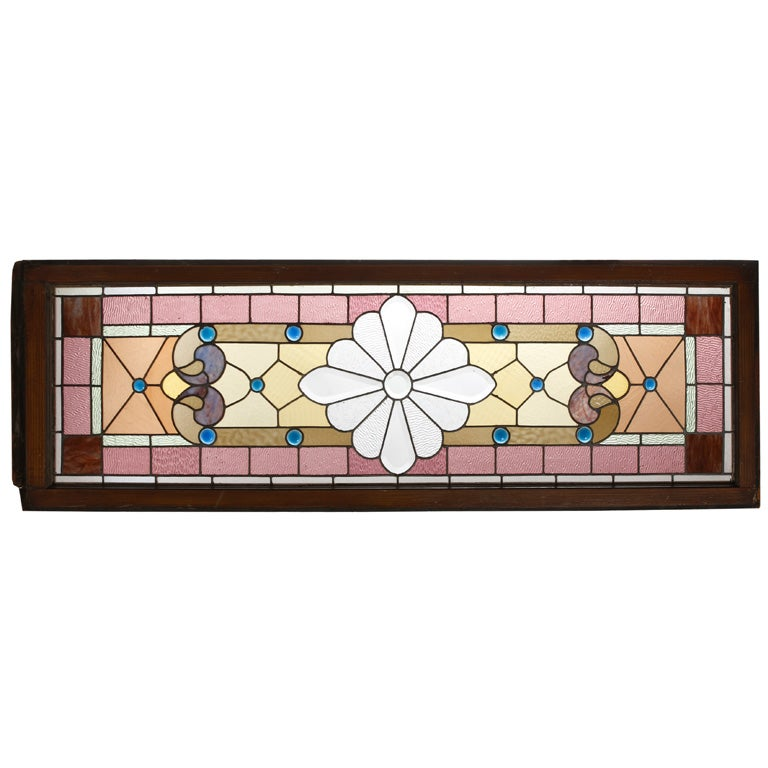 Stained Glass Window At 1stdibs