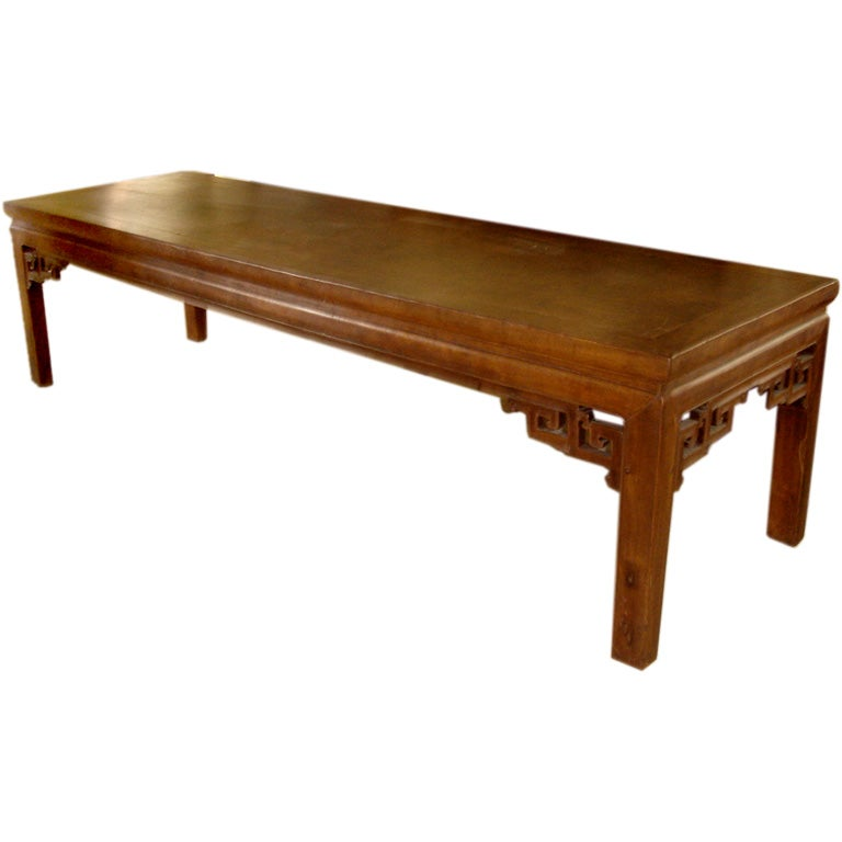 Extra Long Chinese Bench Coffee Table Ching Dynasty At 1stdibs