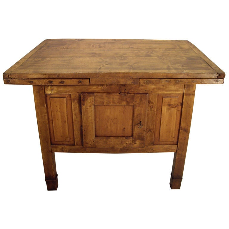 Rustic Italian Kitchen Worktable At 1stdibs