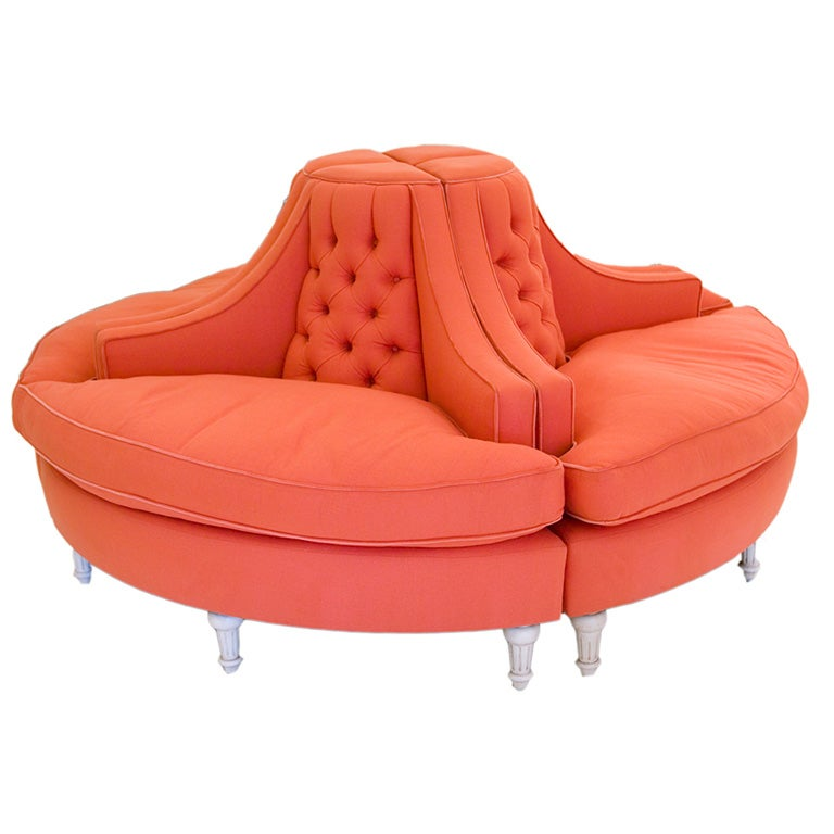Stunning 4 Piece Round Sofa At 1stdibs