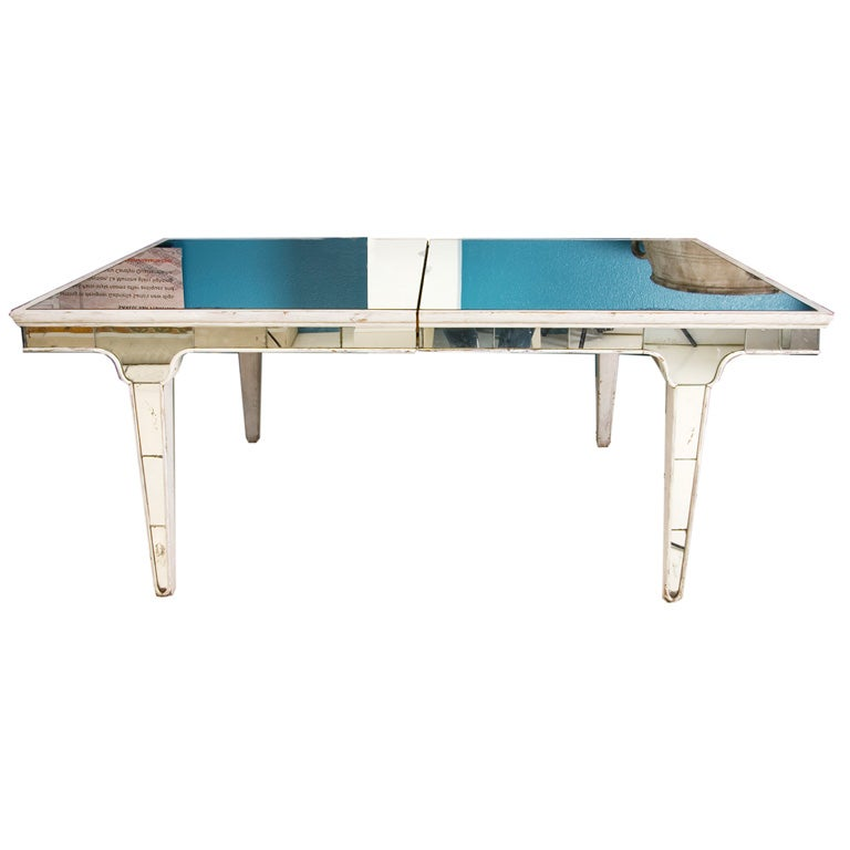 mirrored dining table at 1stdibs