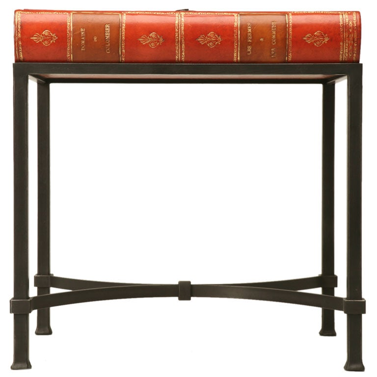 C1920 1940 Storage Book End Table At 1stdibs