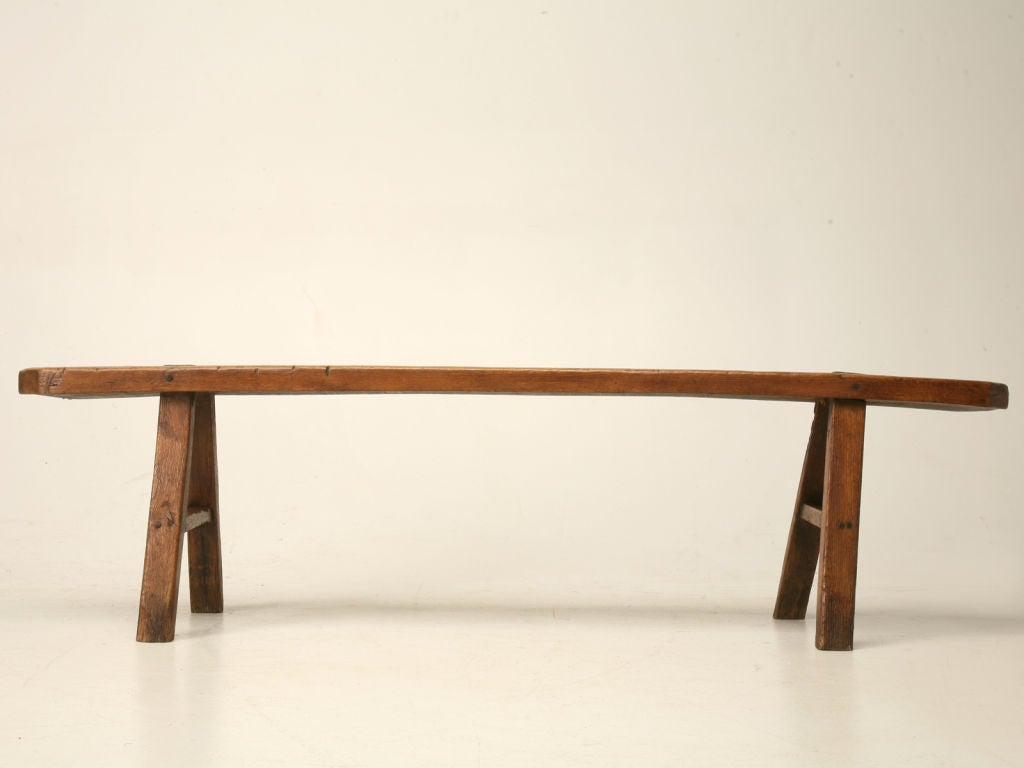 18th Century Rustic French Farmhouse Bench at 1stdibs
