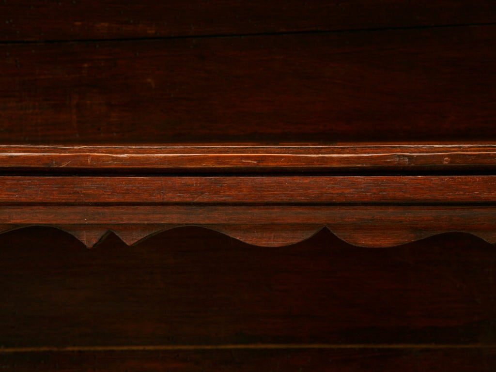 Original, 18th Century French Oak and Pine Plate Rack For Sale 1