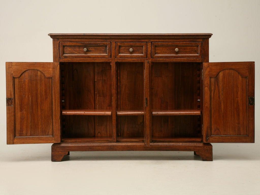 Teak Wood Buffet ~ Reclaimed teak wood sideboard at stdibs