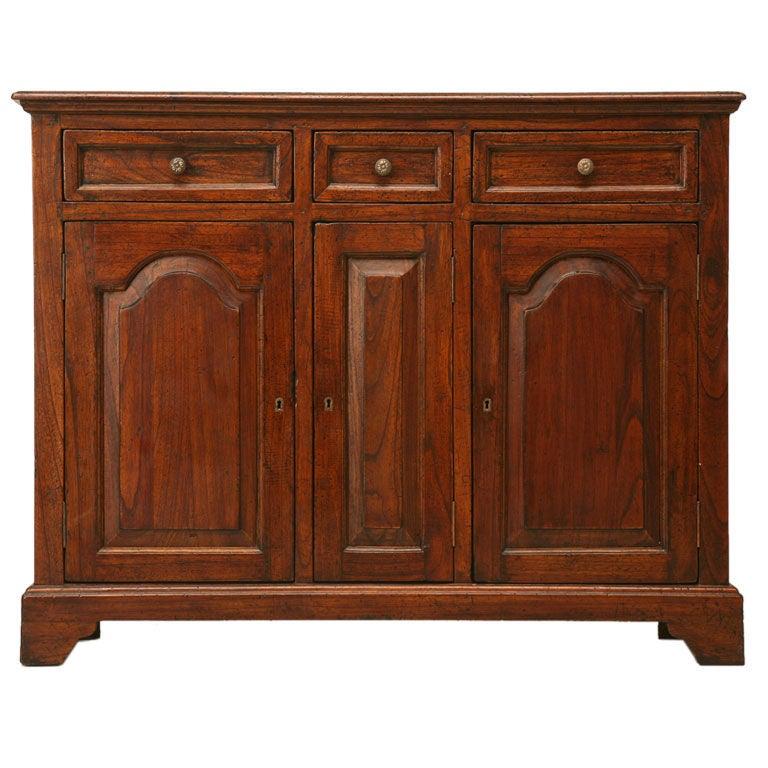 Reclaimed teak wood sideboard at stdibs