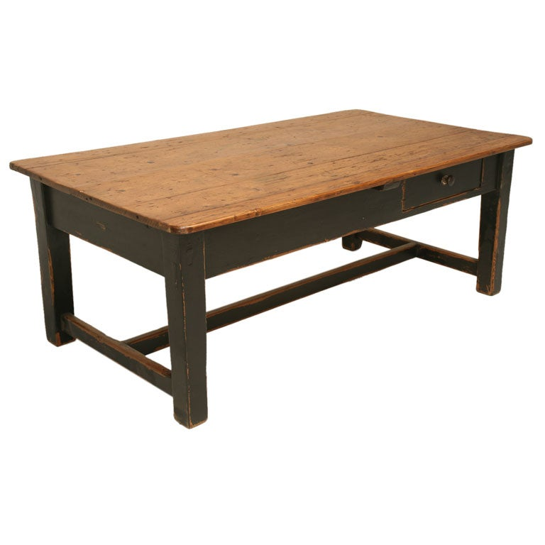 irish pine coffee table at 1stdibs