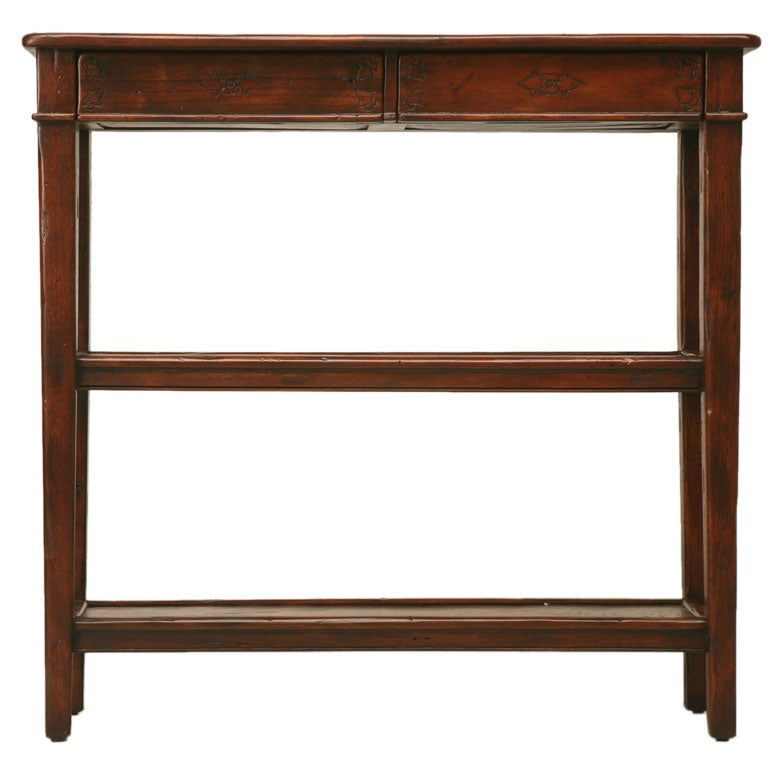 petite console table at 1stdibs. Black Bedroom Furniture Sets. Home Design Ideas