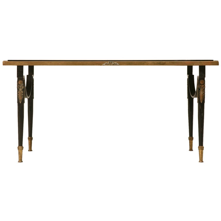 French Napoleon Iii Style Coffee Table At 1stdibs
