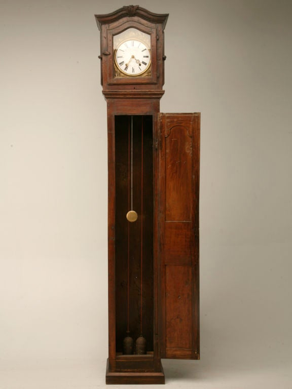 c1820 French Antique Tall Case Clock 2