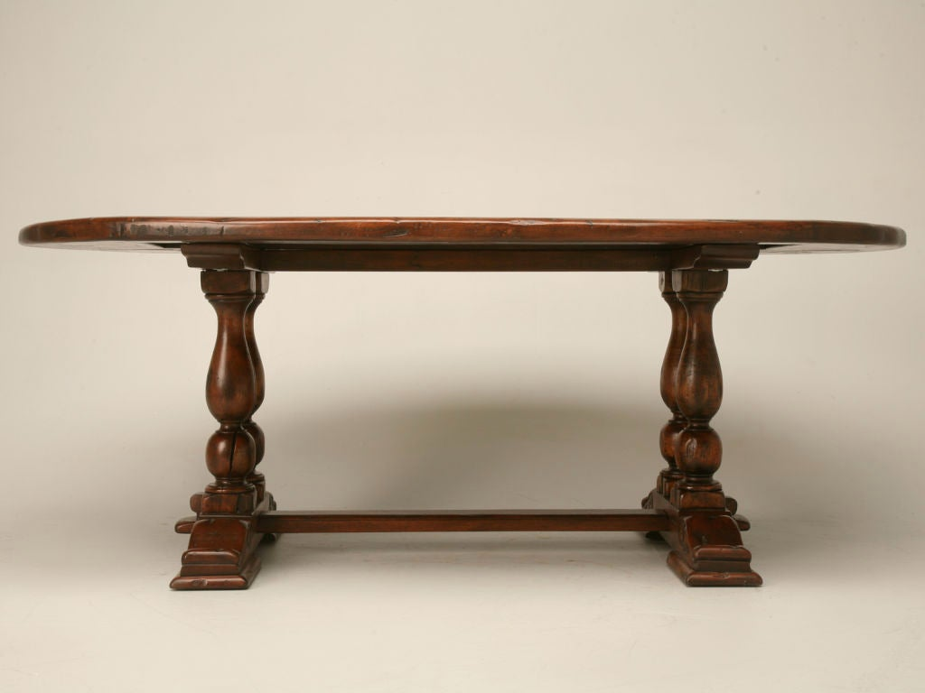 Reclaimed Hardwood Oval Dining Table at 1stdibs : thcb540045 from www.1stdibs.com size 1024 x 768 jpeg 39kB