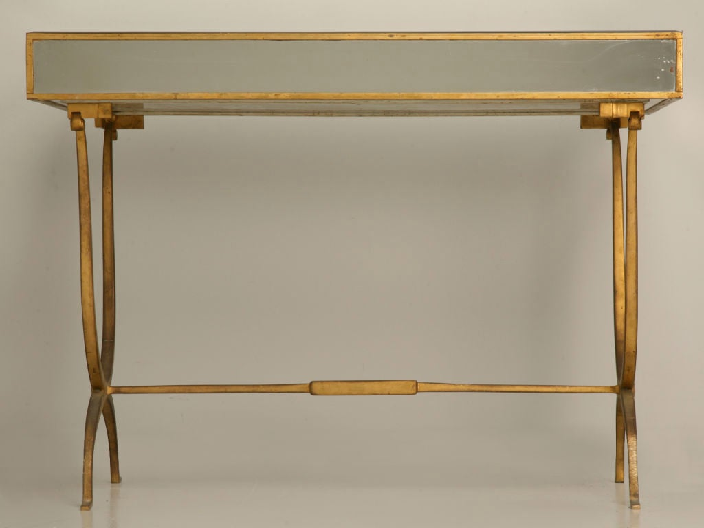 French 40 S Ladies Mirrored Dressing Table At 1stdibs