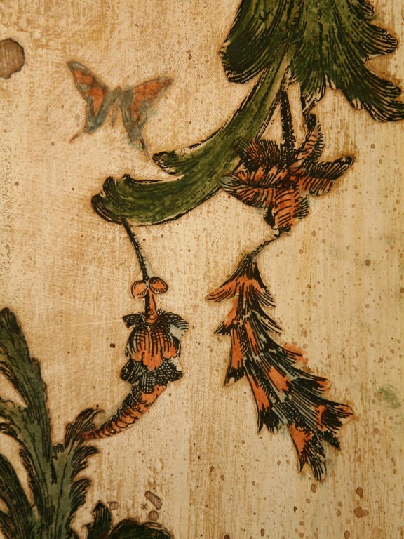 Pair of late 19th C. Antique Italian Semainiers Decorated in 20th C. Arte Povera image 9