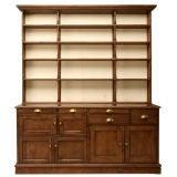 c.1880 English Shopkeepers Dresser/Hutch