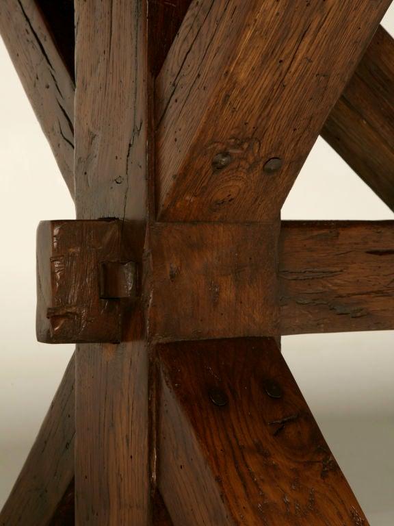 Handmade French White Oak Farm Table For Sale At 1stdibs