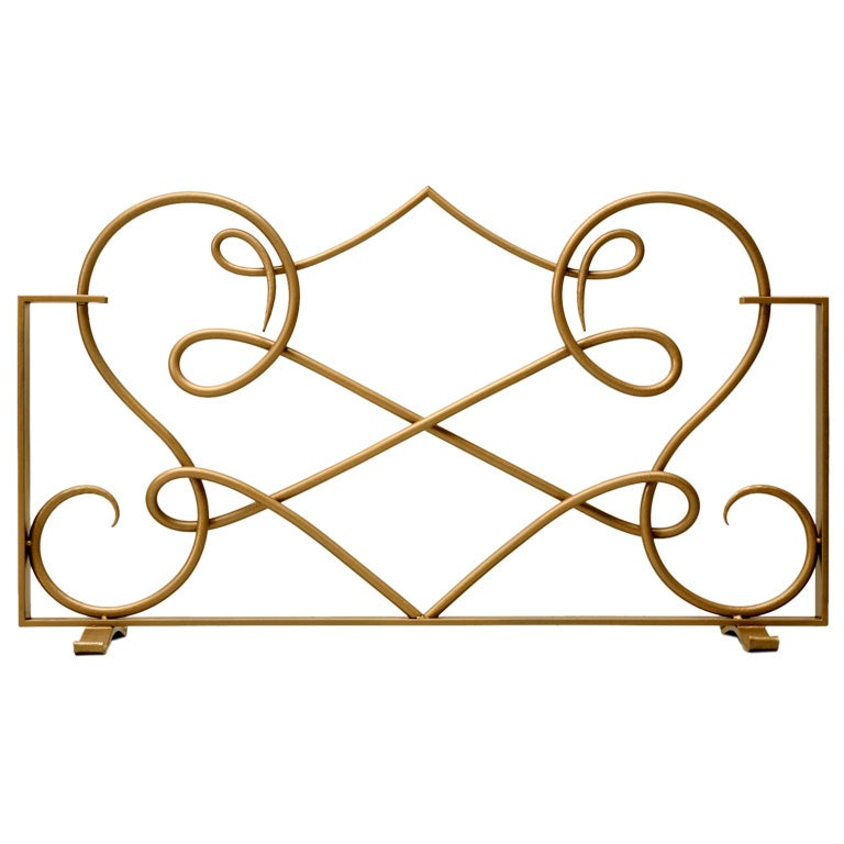 Fire Screen in the Style of Rene Drouet