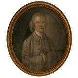 c.1860 English Pastel Portrait