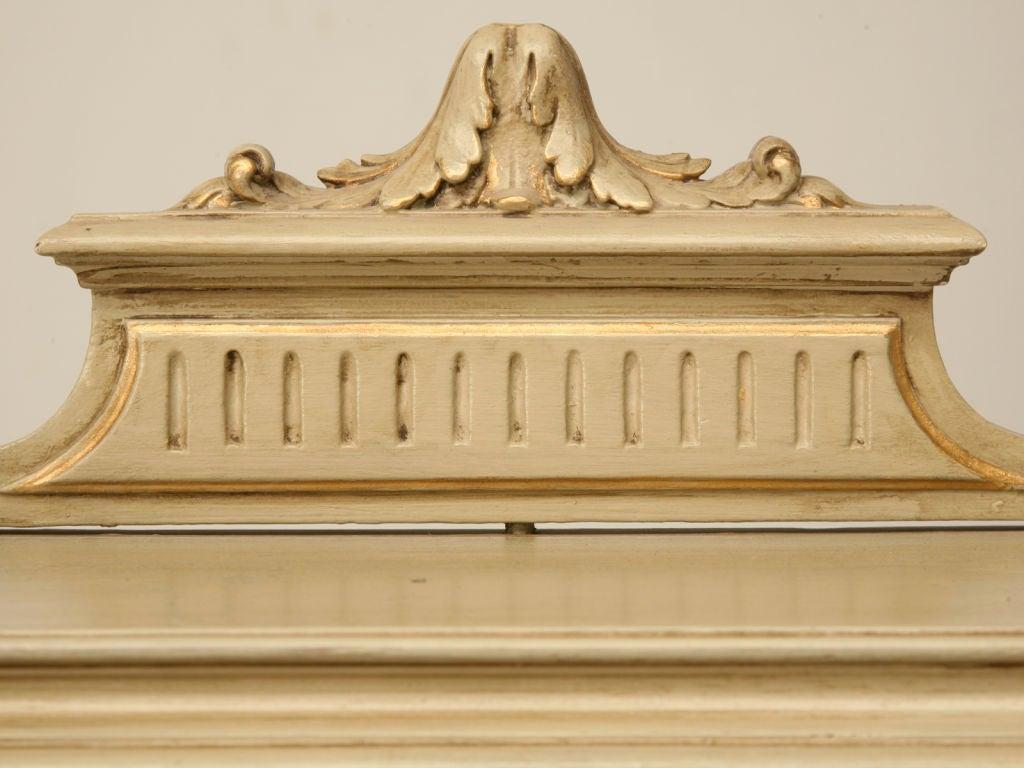 Petite Painted Antique French Louis XVI Ladies Secretary 2