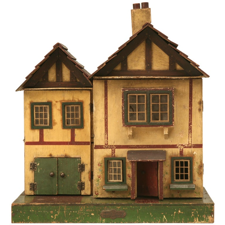 Pin Custom-designed-english-tudor-dollhouses on Pinterest