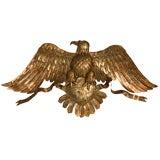 c.1960 Copper American Eagle Wall Plaque