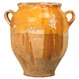 Original Antique French Confit Pot