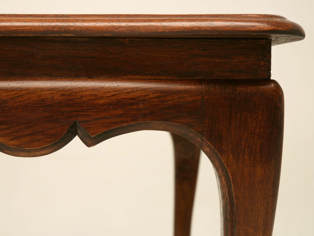Vintage French Oak Louis Xv Coffee Table At 1stdibs