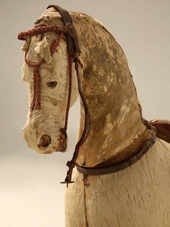 c.1900 Antique English Horse Pull Toy 3