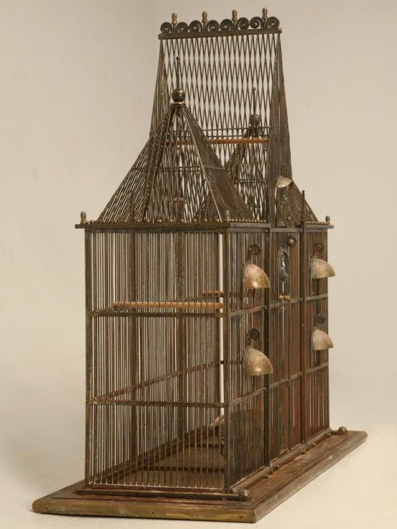 Custom Handmade Iron Bird Mansion 2