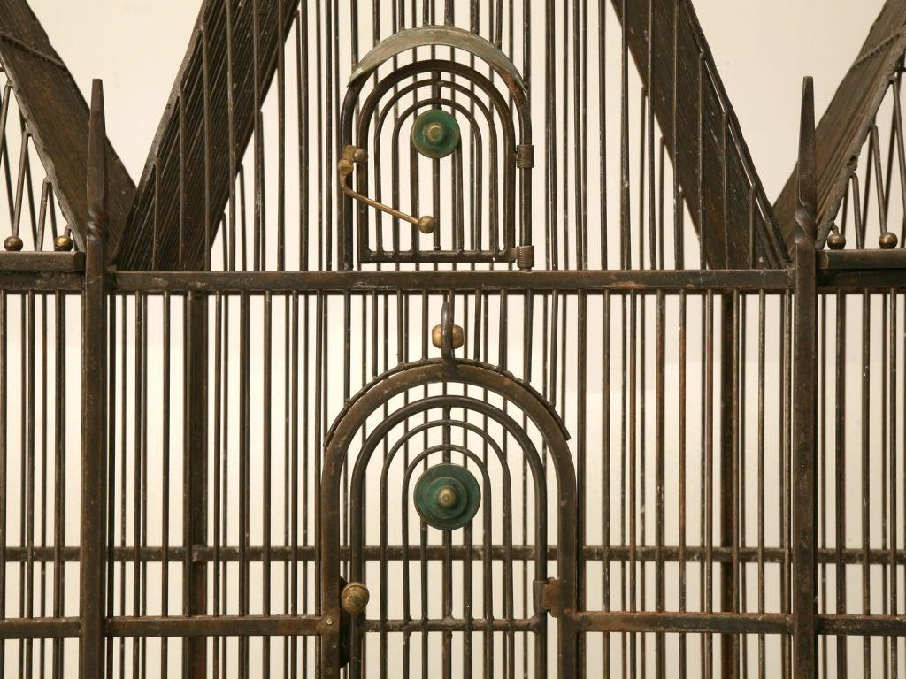 Custom Handmade Iron Bird Mansion 6