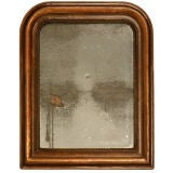 c.1830 Petite French Louis Philippe Mirror