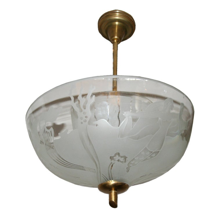 Glossner swedish ceiling fixture at 1stdibs for Swedish light fixtures
