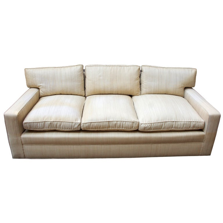 Frank Sectional Sofa Bed: An American Jean-Michael Frank Inspired Sofa At 1stdibs