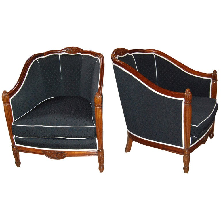 1940S PAIR OF FRENCH ARMCHAIRS at 1stdibs : dsc0001a from 1stdibs.com size 768 x 768 jpeg 65kB
