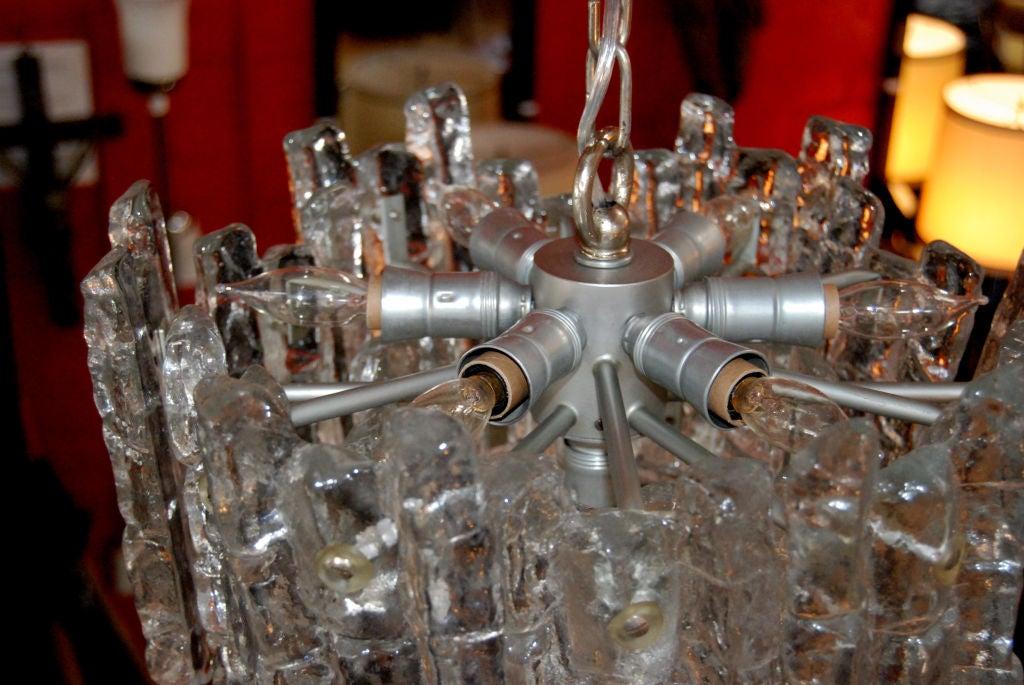 Austrian J. T. Kalmar Chandelier For Sale