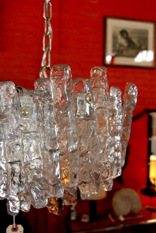 J. T. Kalmar Chandelier In Good Condition For Sale In Cathedral City, CA
