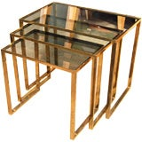 1960's Set Of  French Nesting Tables
