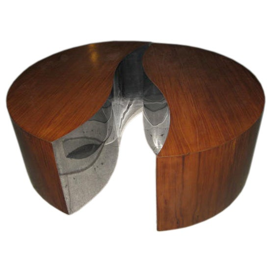 Awesome yin yang coffee table at 1stdibs for Table yin yang