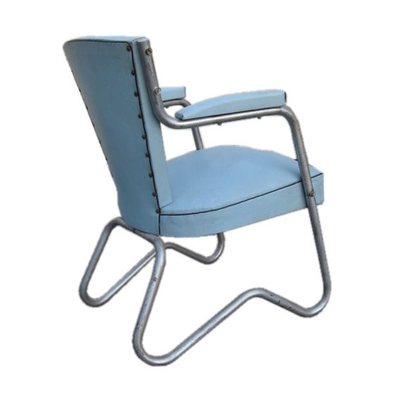 industrial style office chair. industrial style french art deco bauhaus office chair 1 s