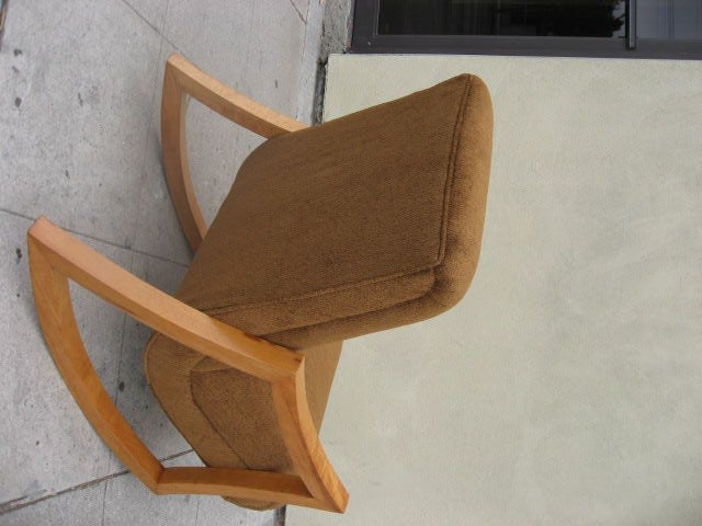 Very fortable 1950s Rocking Chair at 1stdibs