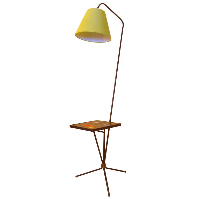 French 50s Floor Lamp By Pierre Guariche At 1stdibs