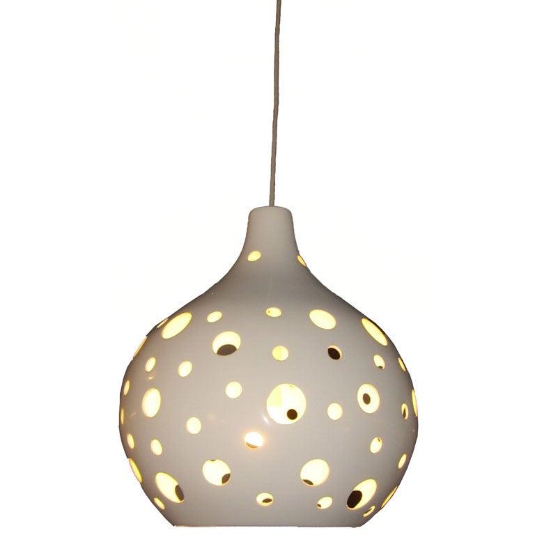 1970's Pendant  Light 1