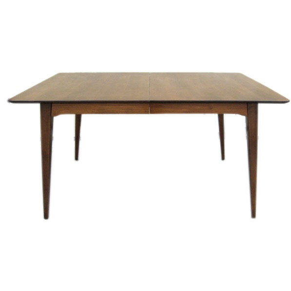 50s dining table in the manner of pierre guariche at 1stdibs for Dining room chairs 50