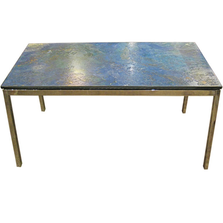 Chrome coffee table by florence knoll for sale at 1stdibs Florence knoll coffee table